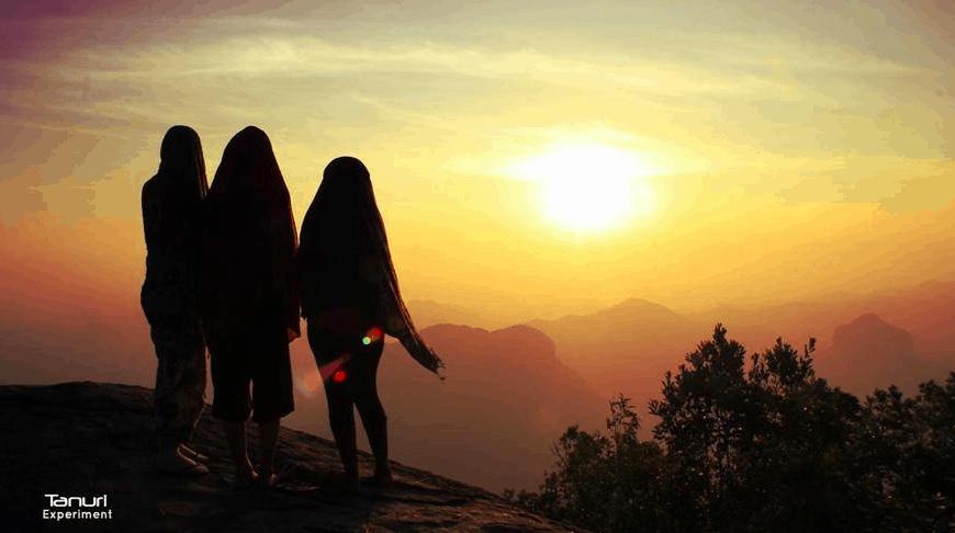 climbing tup keak for sunrise in krabi thailand