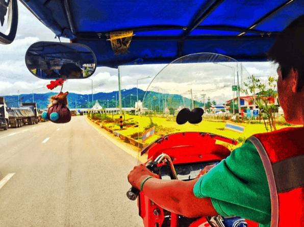 Chiang Khong to Huay Xai Border Crossing (Thailand to Laos)