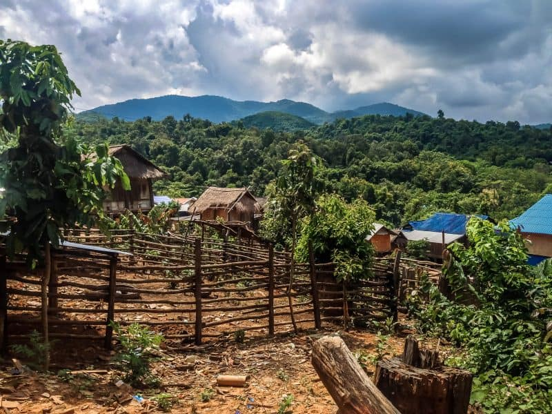 The best place to go in Luang Namtha are the villages.