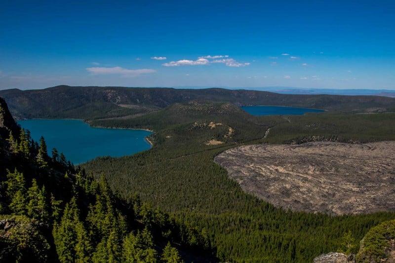 Be adventurous and hike up Paulina Peak when traveling around bend,oregon