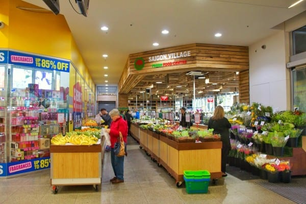 Save money in Australia by shopping in markets.