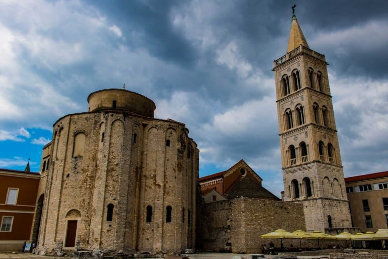 A stop in Zadar on your Croatia road trip is well worth it.