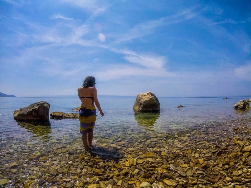 things to do in Split and Omis, Croatia—Beaches!