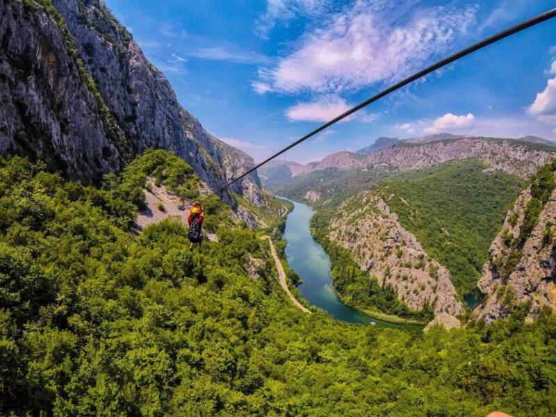 One-Week Road Trip Croatia Itinerary—zip line!