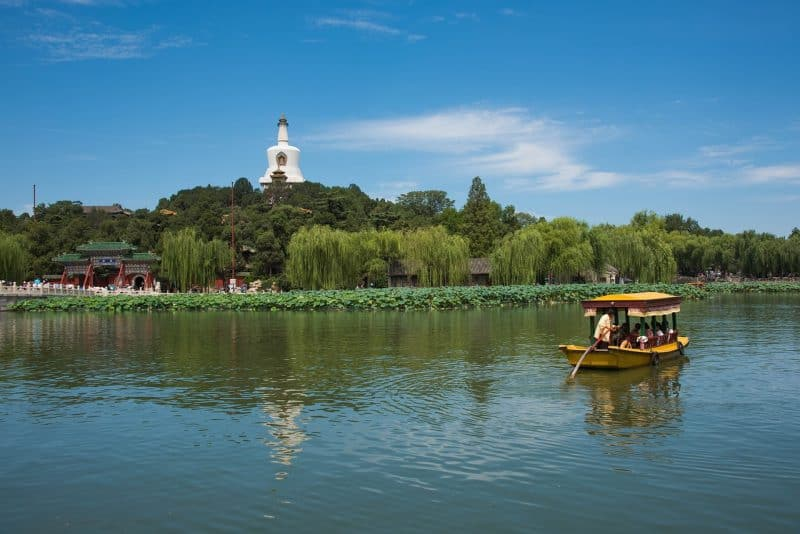 Beihai lake is one of the few places to include in your shanghai itinerary