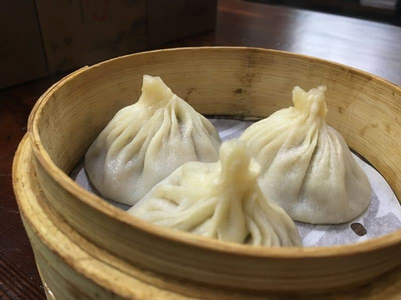 Eating dumplings is one of my favourite things to do in shanghai itinerary