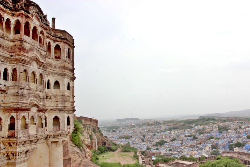 Plan a Rajasthan trip and do visit Mehrangarh Fort in Jodhpur.