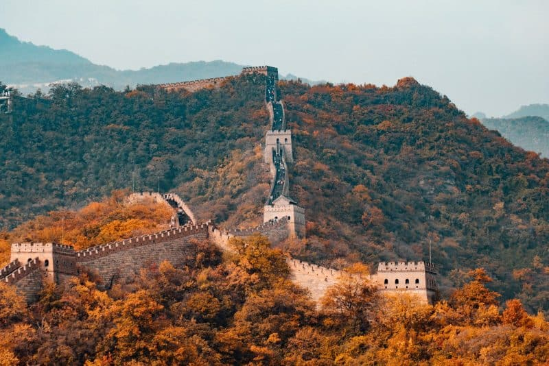 The great wall of China is one of the few places to include in your Beijing shanghai itinerary
