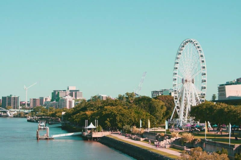 The monthly cost of living in Brisbane Australia is $1900.