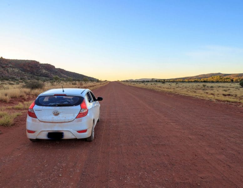Mereenie Loop Road is one of the best roads to explore outback self drive tour.