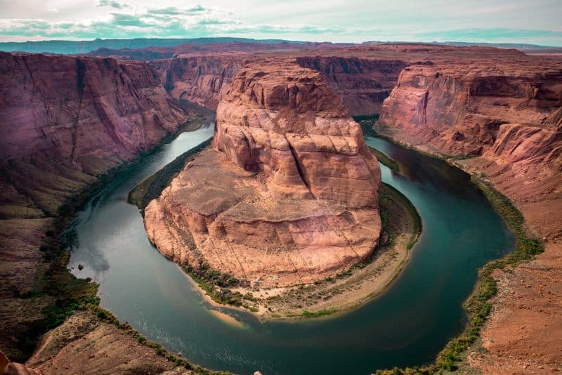 Horseshoe Bend is a must are Antelope Canyon in January