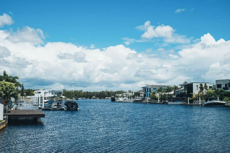 The monthly cost of living in Sunshine Coast Australia is around $1600.