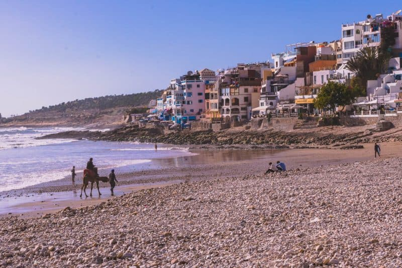 Finding Taghazout, Morocco's surf camps.