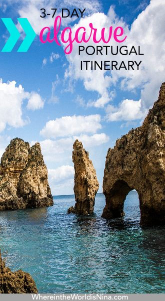 3-7 day Algarve Itinerary: Surf, Beach and Hiking in the Algarve (Portugal)