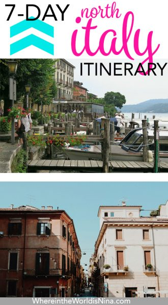 A 7-Day North Italy Itinerary—City Life to Lakeside Bliss