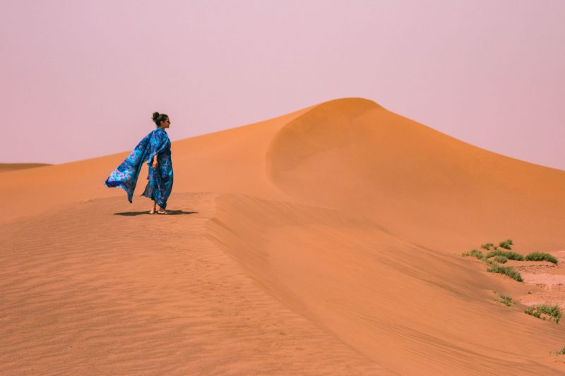 About to go camping in the Sahara desert!