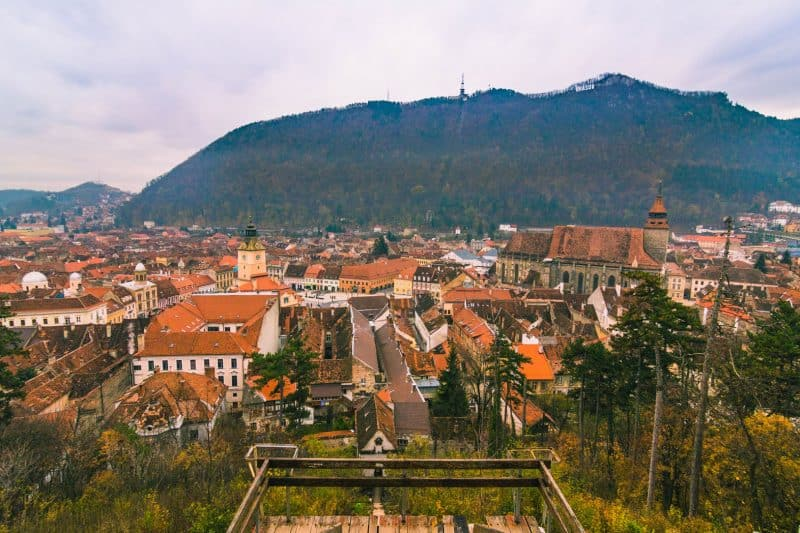 Brasov- a place to go in Transylvania.