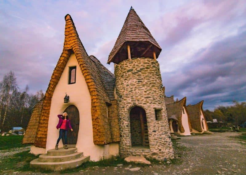 Clay House in Transylvania Romania