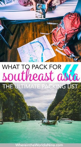 Backpacking Southeast Asia Packing List: Literally Everything You Need!