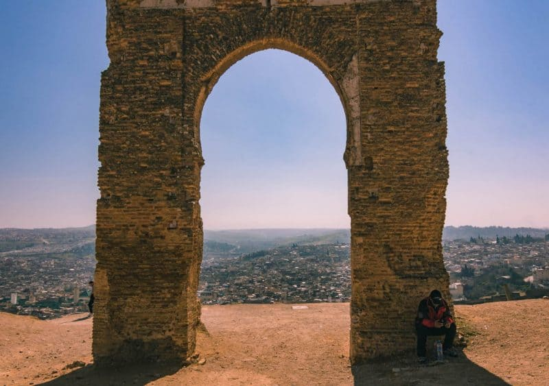 Merenid Tombs around Fes