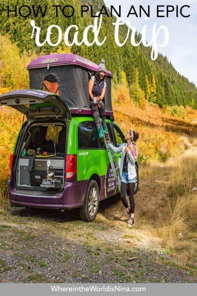 How to Plan a USA Road Trip & Choosing a Vehicle