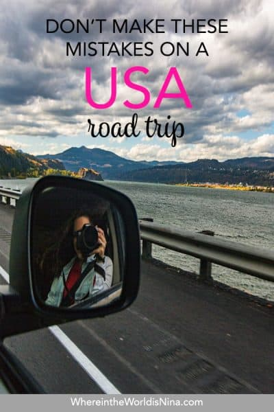 19 Mistakes to Avoid When on A Road Trip in the USA